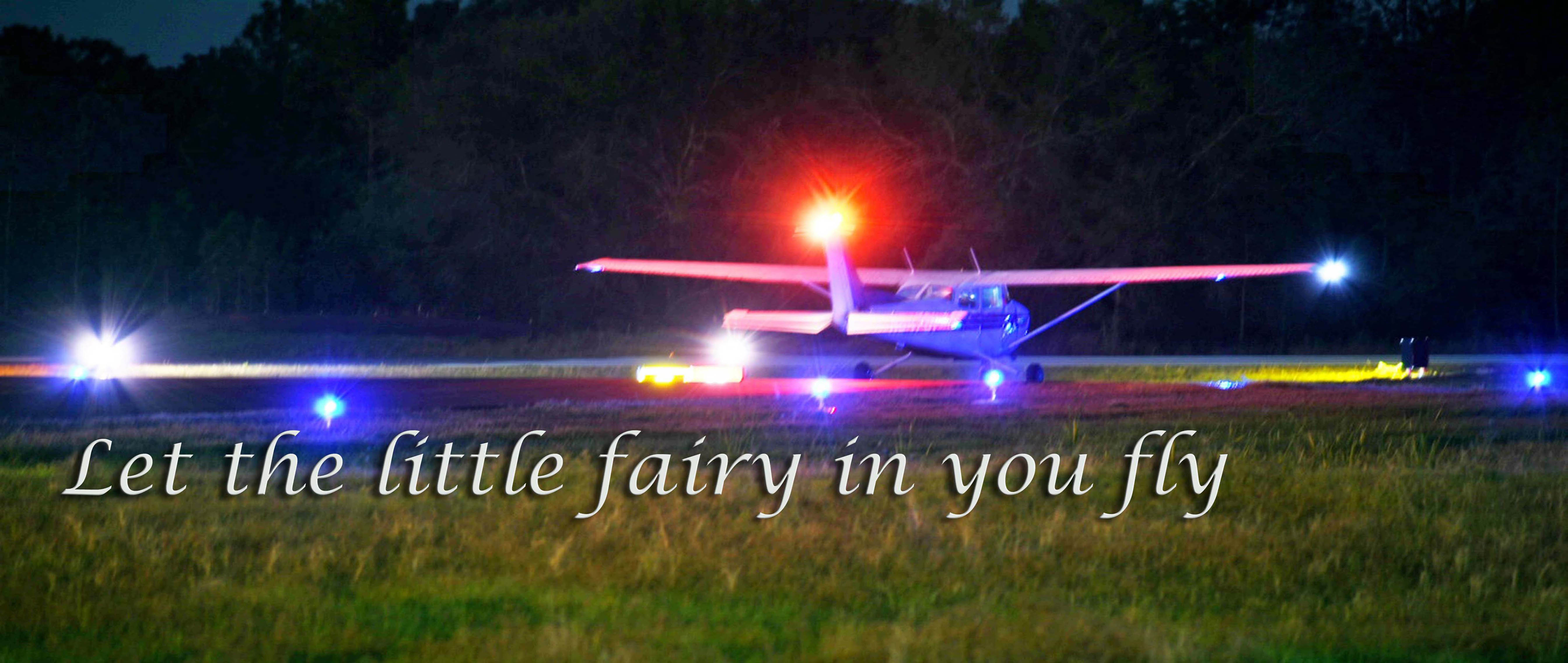 Let the little fairy in you fly